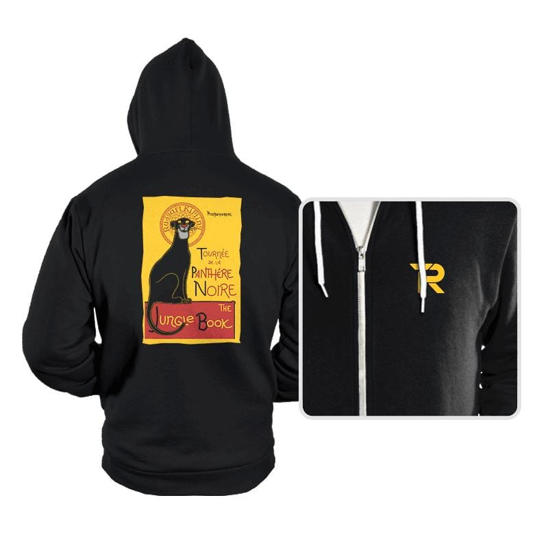 Panthere Noire - Hoodies - Hoodies - RIPT Apparel