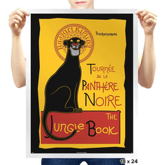 Panthere Noire - Prints - Posters - RIPT Apparel