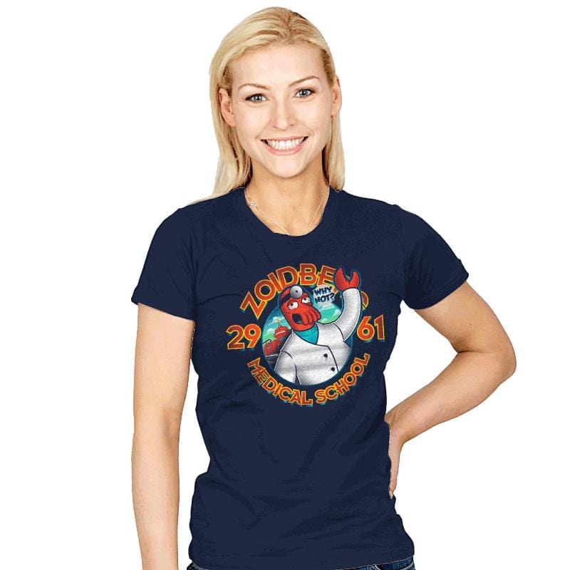 Med. School of the Future - Womens - T-Shirts - RIPT Apparel