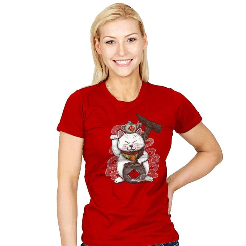 Maneki Senbyo - Womens - T-Shirts - RIPT Apparel