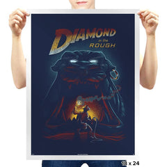 Diamond in the Rough - Prints - Posters - RIPT Apparel