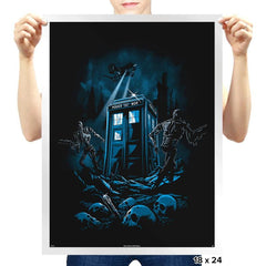 The Doctor's Judgement - Prints - Posters - RIPT Apparel