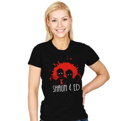 The Adventures of Shaun & Ed - Womens - T-Shirts - RIPT Apparel
