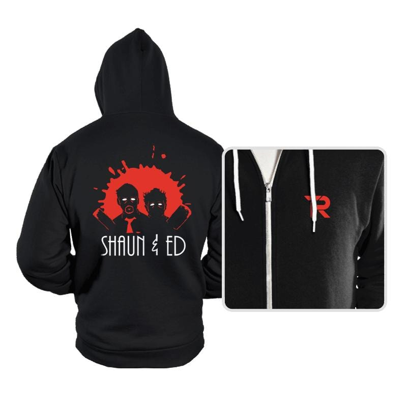 The Adventures of Shaun & Ed - Hoodies - Hoodies - RIPT Apparel