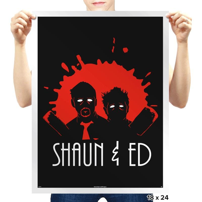 The Adventures of Shaun & Ed - Prints - Posters - RIPT Apparel