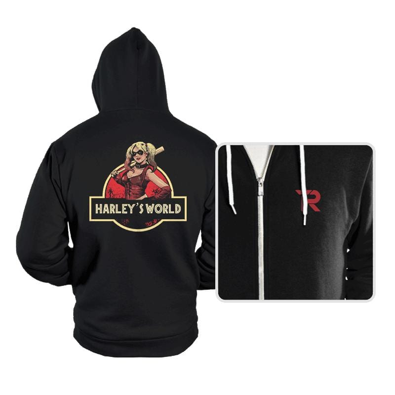 Harley's World - Hoodies - Hoodies - RIPT Apparel