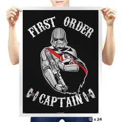 Captain of the First Order - Prints - Posters - RIPT Apparel