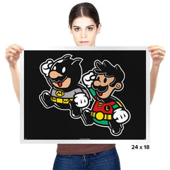 Dynamic Duo  - Prints - Posters - RIPT Apparel