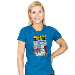 Amazing Future - Womens - T-Shirts - RIPT Apparel