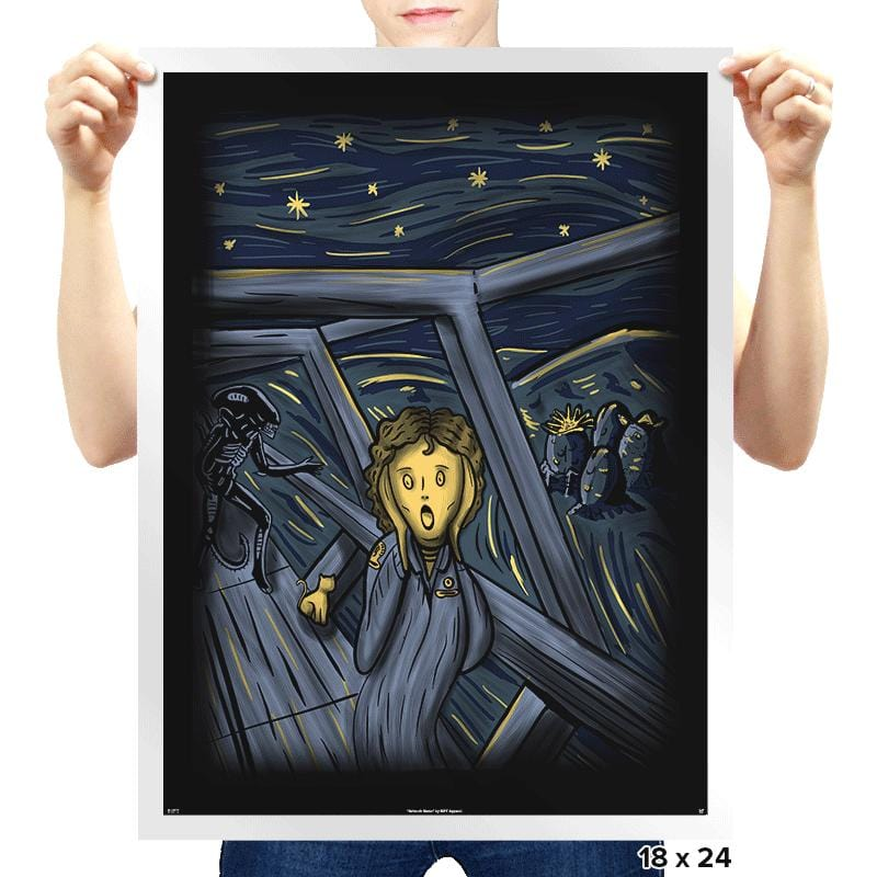In Space No One Can Hear Your Scream - Prints - Posters - RIPT Apparel