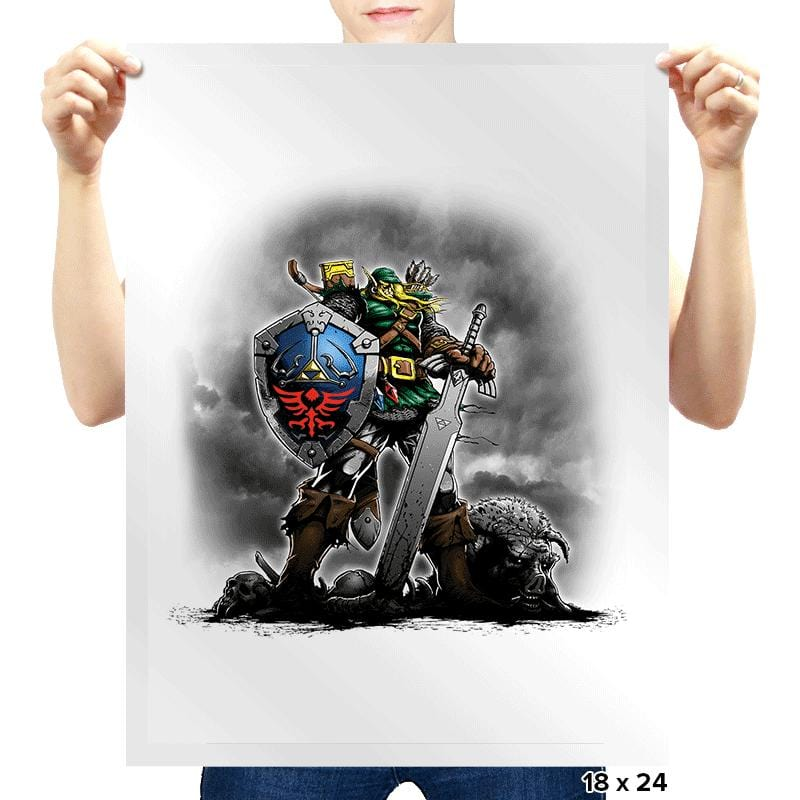 The Missing Link - Prints - Posters - RIPT Apparel