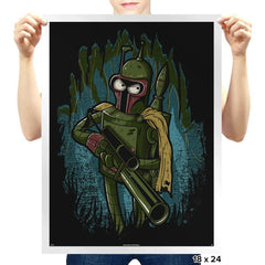 Bender Fett - Prints - Posters - RIPT Apparel