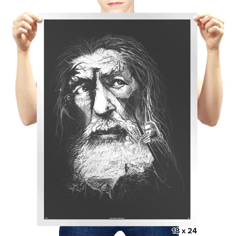 Wizard Story - Prints - Posters - RIPT Apparel