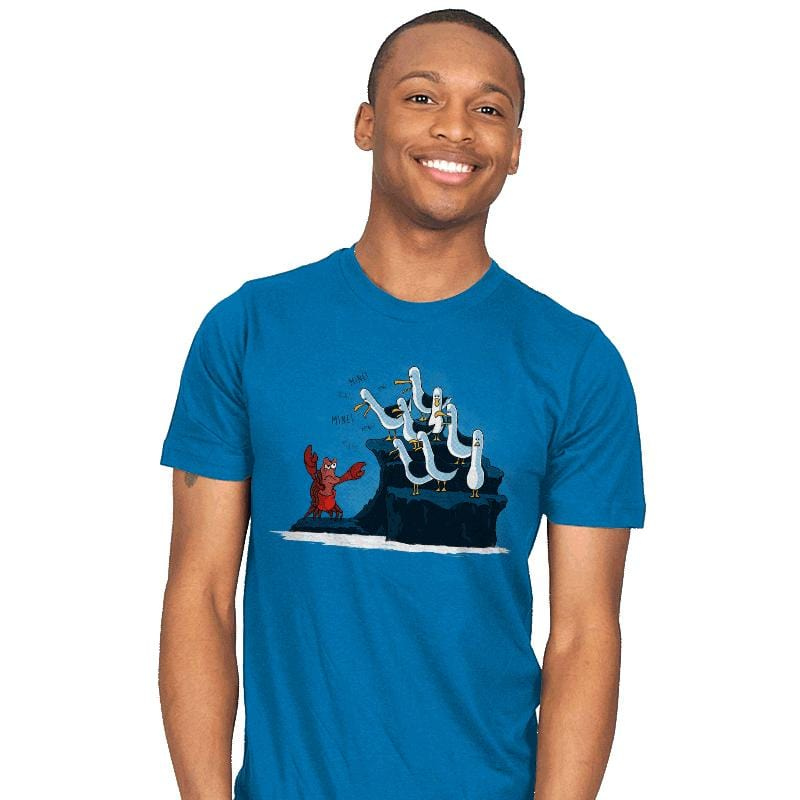 The crab is mine! - Mens - T-Shirts - RIPT Apparel