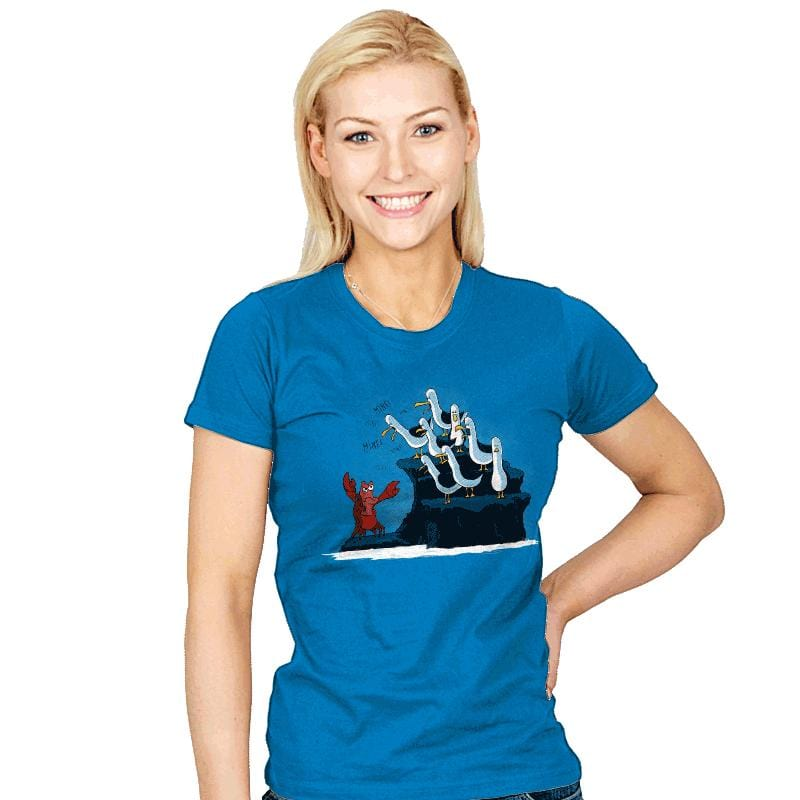 The crab is mine! - Womens - T-Shirts - RIPT Apparel