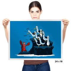 The crab is mine! - Prints - Posters - RIPT Apparel