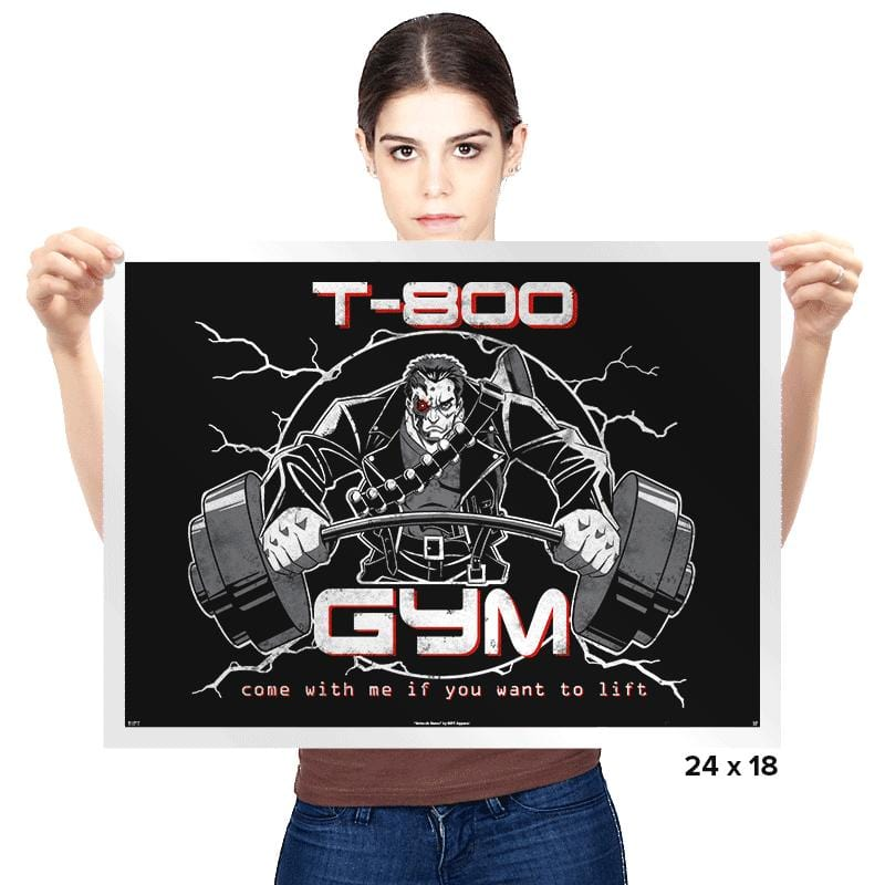 T-800 Gym - Prints - Posters - RIPT Apparel