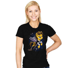 My Rebel Pony - Womens - T-Shirts - RIPT Apparel