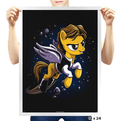 My Rebel Pony - Prints - Posters - RIPT Apparel