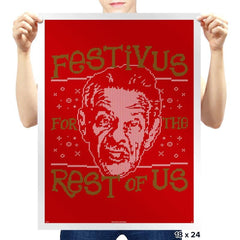 A Festivus for the Rest of Us - Prints - Posters - RIPT Apparel