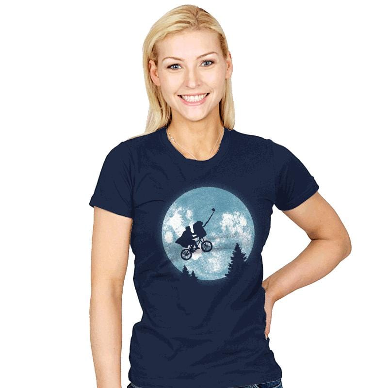 Phone Home Selfie - Womens - T-Shirts - RIPT Apparel