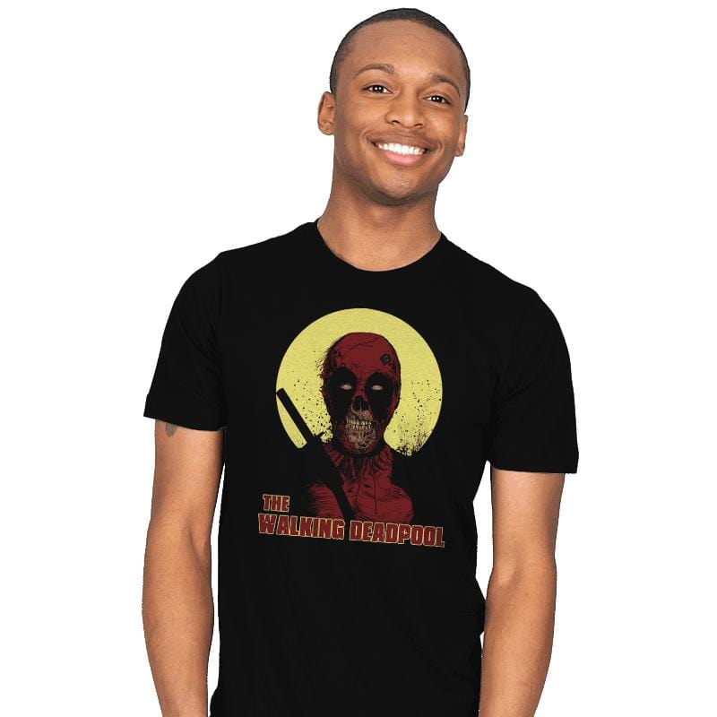 The Walking Deadpool - Mens - T-Shirts - RIPT Apparel