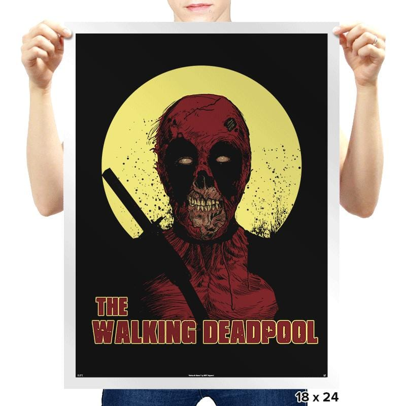 The Walking Deadpool - Prints - Posters - RIPT Apparel