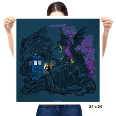 And Now You will deal with me, O' Doctor - Prints - Posters - RIPT Apparel