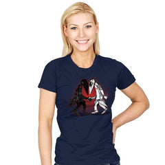 Ninja VS Ninja - Womens - T-Shirts - RIPT Apparel