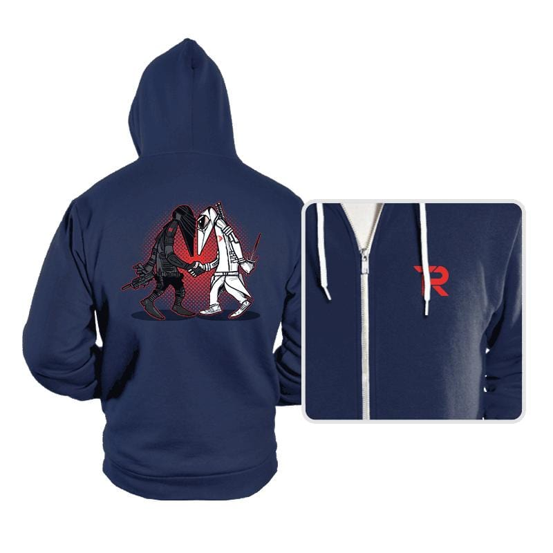 Ninja VS Ninja - Hoodies - Hoodies - RIPT Apparel