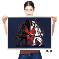 Ninja VS Ninja - Prints - Posters - RIPT Apparel
