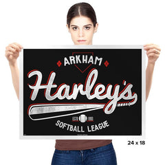 Batter Up! - Prints - Posters - RIPT Apparel