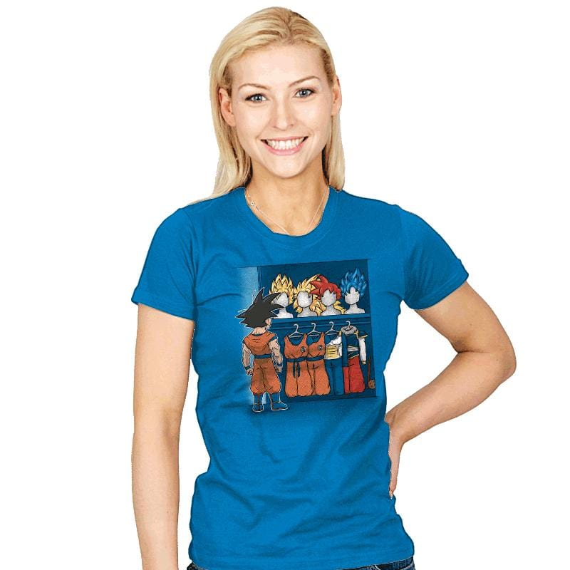 Saiyan Closet - Womens - T-Shirts - RIPT Apparel