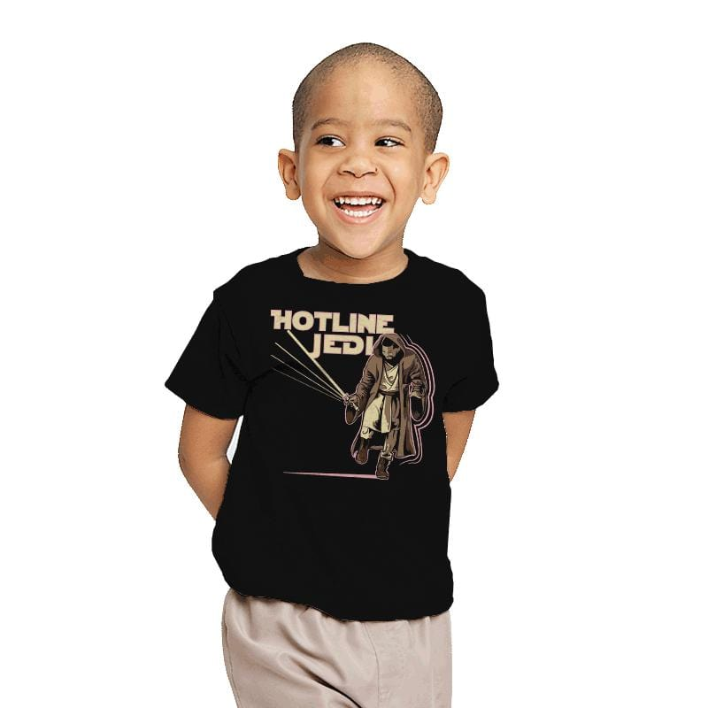 Hotline Jedi - Youth - T-Shirts - RIPT Apparel
