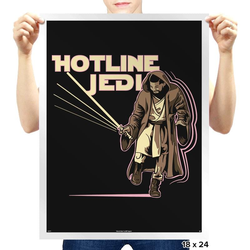 Hotline Jedi - Prints - Posters - RIPT Apparel