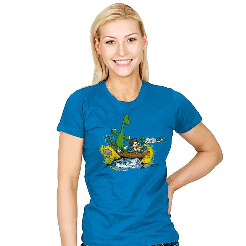 River Friends - Womens - T-Shirts - RIPT Apparel