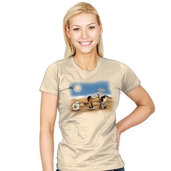 The Schulz Awakens - Womens - T-Shirts - RIPT Apparel