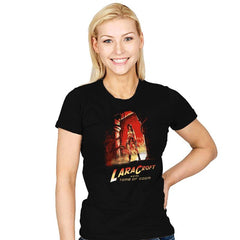 Indiana Croft  - Womens - T-Shirts - RIPT Apparel