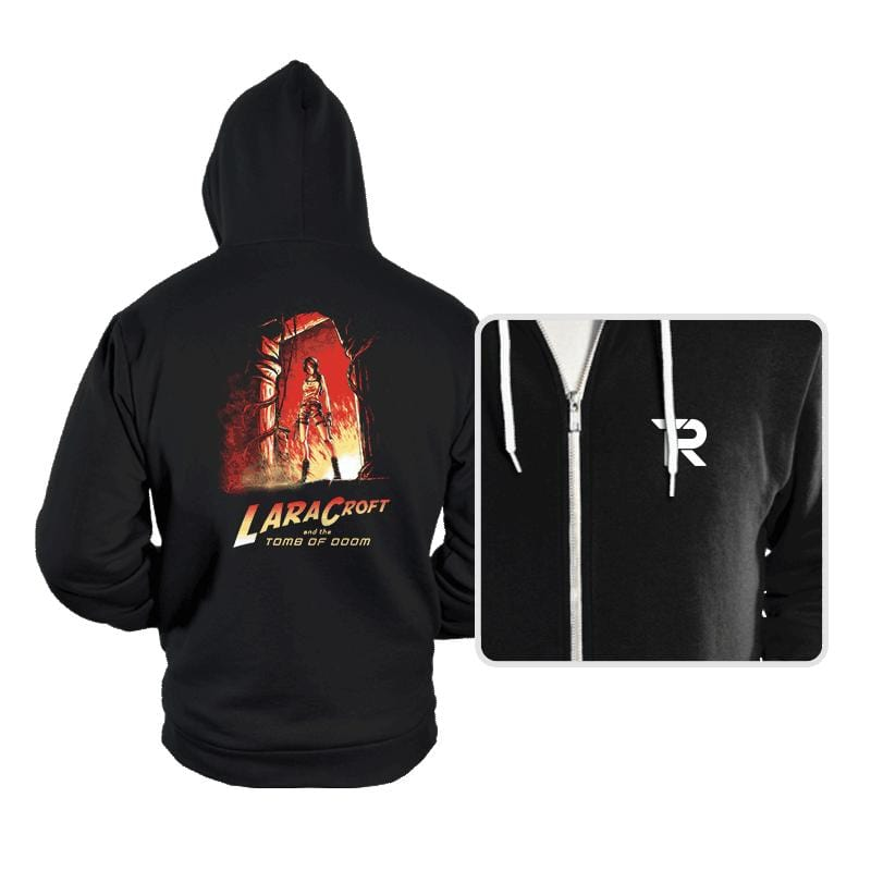 Indiana Croft  - Hoodies - Hoodies - RIPT Apparel