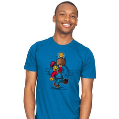 Super Brick Bros. - Mens - T-Shirts - RIPT Apparel