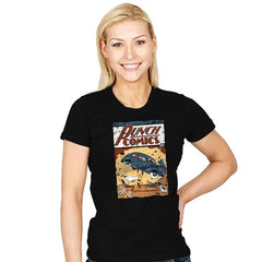 Punch Comics - Womens - T-Shirts - RIPT Apparel