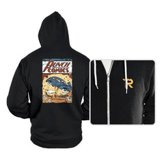 Punch Comics - Hoodies - Hoodies - RIPT Apparel