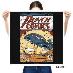 Punch Comics - Prints - Posters - RIPT Apparel