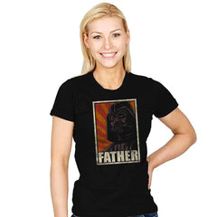 Father! - Womens - T-Shirts - RIPT Apparel