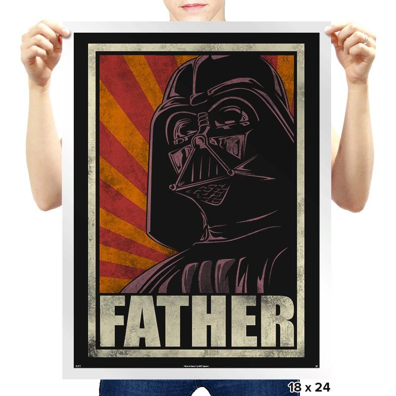 Father! - Prints - Posters - RIPT Apparel