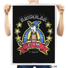 Regular Gym - Prints - Posters - RIPT Apparel