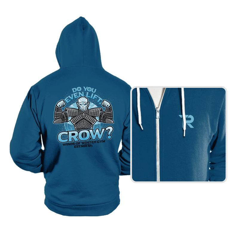 Do You Even Lift, Crow? - Hoodies - Hoodies - RIPT Apparel