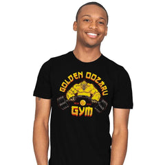 The Golden Oozaru Gym - Mens - T-Shirts - RIPT Apparel