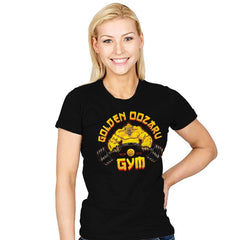The Golden Oozaru Gym - Womens - T-Shirts - RIPT Apparel