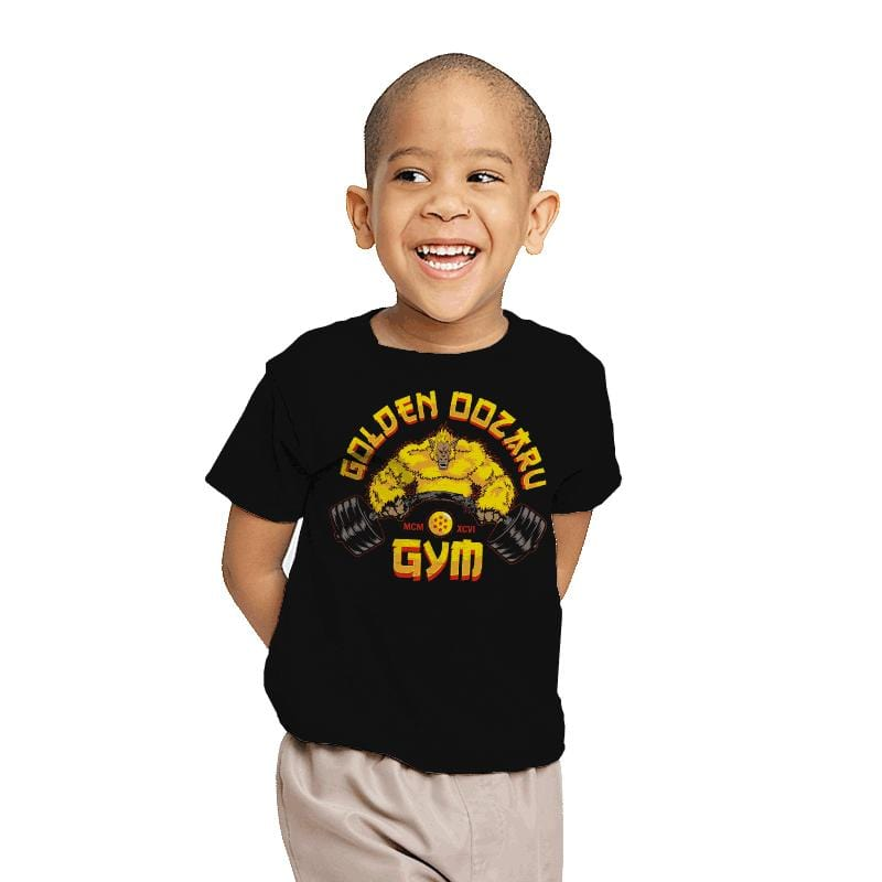 The Golden Oozaru Gym - Youth - T-Shirts - RIPT Apparel